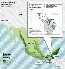 chiapas mexico map rainforests and californian redd funds greenpeace