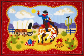Cowboy Area Rugs Olive Kids Ride U0027em Cowboy Red Area Rug Products Pinterest