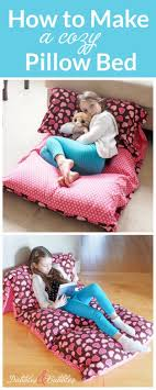 pillow bed for kids 44 pillow ideas for kids 25 best ideas about cute pillows on