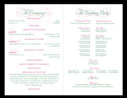 Wedding Ceremony Program Template Free Awards Program Template Template Update234 Com Template