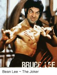 Bruce Lee Meme - bruce lee bean lee the joker joker meme on me me