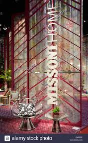 milan italy april 14 milan design week missoni home stand at