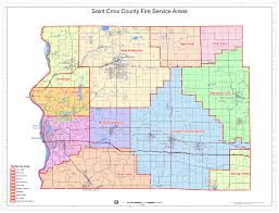 Wisconsin Cities Map by St Croix County Municipalities Burning Permits Emergency