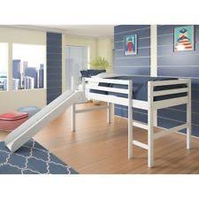 loft bed with slide ebay
