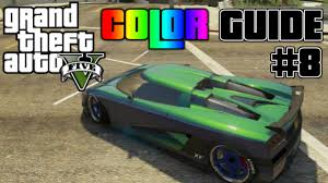 gta v ultimate color guide 8 best colors combos for entity xf