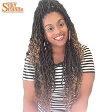 crochet hair silky strands 2x bohemian mambo goddess locs crochet hair