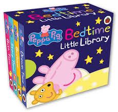 Peppa Pig 2017 Book Peppa Pig Bedtime Library