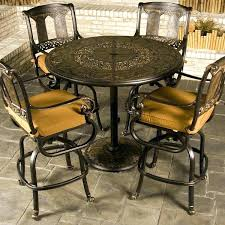 Patio Bar Height Tables Bar Height Bistro Set Outdoor Outdoor Bar Height Bistro Set