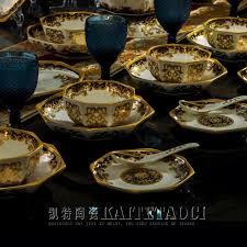 dinnerware sets new design jingdezhen bone china tableware set 50