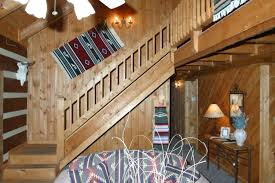 Log Cabin Home Interiors Interior Log Home Cabin Pictures Battle Creek Log Homes