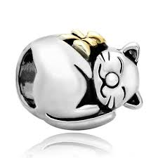 pugster cat animal charms jewellery new sale cheap fits