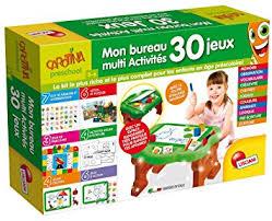 jeux bureau lisciani jeux educatifs fr58723 mon premier bureau multi