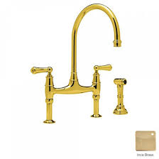 faucets rohl perrin and rowe bridge kitchen faucet
