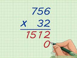 2 easy ways to do long multiplication with pictures
