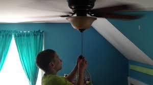 hampton ceiling fan in my room youtube