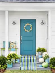 how to style your front porch for fall hgtv