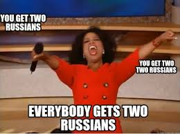 Russians Meme - meme creator you get two russians everybody gets two russians you