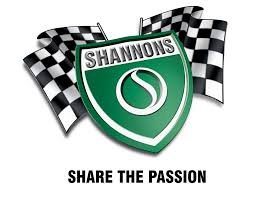 Two Racing Flags Logo Shannons Wheels Council Of Act Motor Clubs