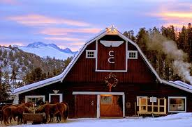 all about winter dude ranches