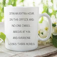 funny novelty mug work mug office mug gift for work colleague