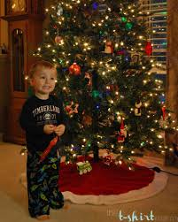 the christmas tree is up the t shirt mama