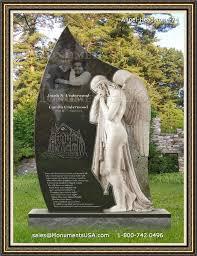 headstone maker floral view memorial gardens