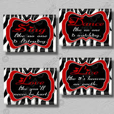 inspiration 40 red and black bathroom wall decor design ideas of