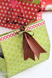 Easy Homemade Christmas Gifts by Diy Christmas Gift Boxes Lady Pattern Paper Scrapbooking Paper