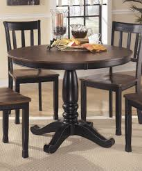 dining best round pedestal dining table for elegant dining room