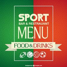 sport bar menu template sport pinterest bar menu menu