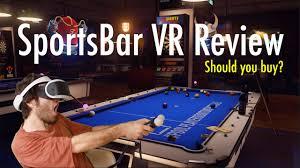 sportsbar vr review playstation vr youtube
