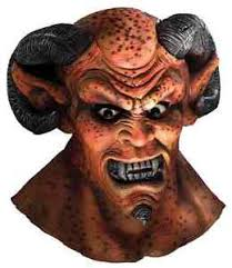 brimstone mask brimstone mask satan lucifer scary