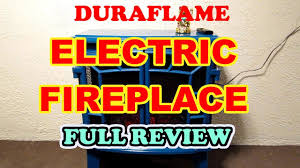 duraflame dfs950 electric fireplace from qvc full review i