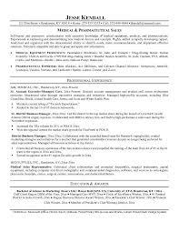 pharmaceutical sales resume sample old version old version
