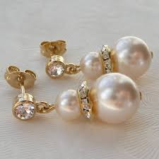 pearl drop earrings pearl drop earrings by katherine swaine notonthehighstreet