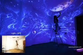 chambre ciel étoilé ces féériques décorations de chambres ne sont visibles que dans l