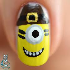 thanksgiving minions nail art nailzini a nail art blog