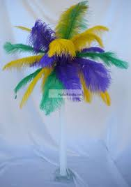 cheap mardi gras wholesale mix sorted color ostrich feather centerpieces feather