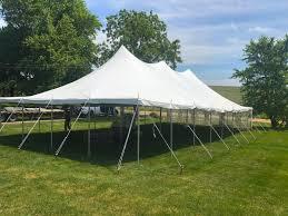 backyard outdoor wedding tent reception in de witt iowa