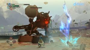 legend of korra the legend of korra gameplay taking down a giant robot gamespot