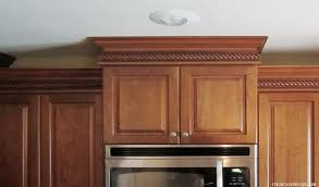 how to do crown molding on kitchen cabinets where to install crown molding in your home