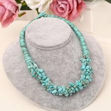multi stone necklace images Blue semi precious necklace diy jewelry natural stone gem multi jpg