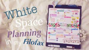 space planner white space planning in a personal size wallet planner set up