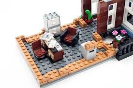 Lego Office by Review 10246 Detective U0027s Office Rebrickable Build With Lego