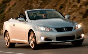 white lexus is 250 red interior 2010 lexus is convertible is250c is350c u2013 review u2013 car and driver