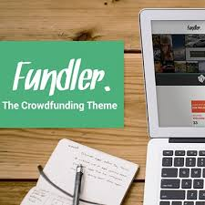 fundler a free though premium wordpress theme for crowdfunding