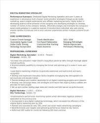 Online Marketing Resume by Marketing Resume Templates Free Resume Template 15 Modern Design