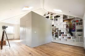 loft conversion open plan ground floor loft space in camden craft design archdaily