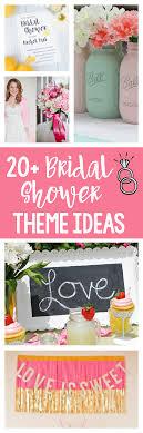 bridal shower theme ideas 20 bridal shower themes squared