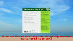 70410 exam reference pdf download story experiences ga